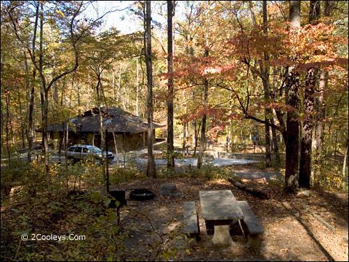blanchard springs cavern camping