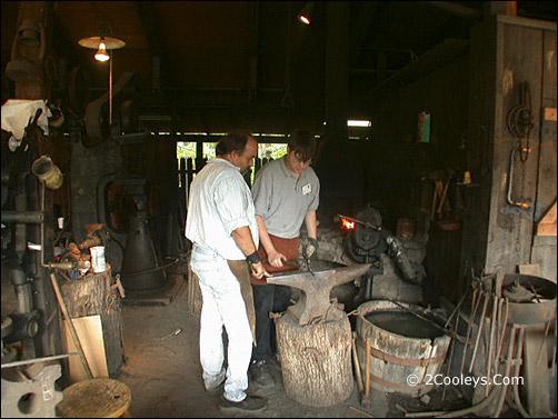 Ozark Folk Center blacksmith