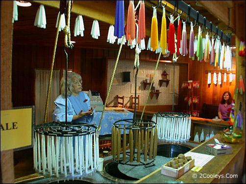 Ozark Folk Center candle maker