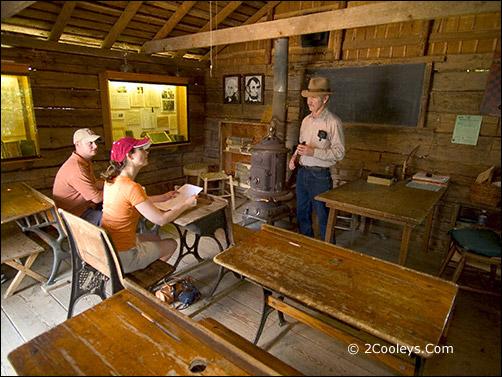 Ozark Folk Center - old school house