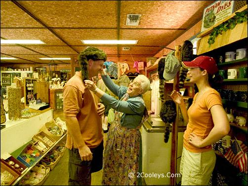 Ozark Folk Center store