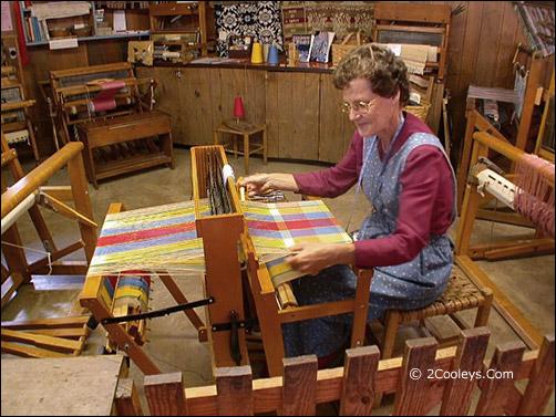 Ozark Folk Center weaving