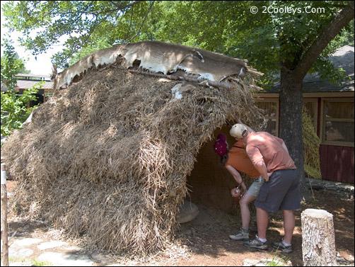 Ozark Folk Center - Indian Shelter