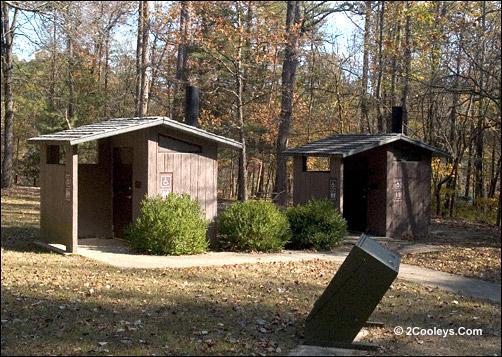 bathrooms at gunner pool recreation area